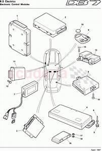 Aston Martin Db7  1997  Electronic Control Modules Parts