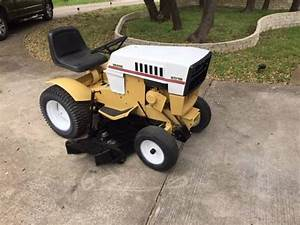 1986 Sears St-16 Garden Tractor - Restored