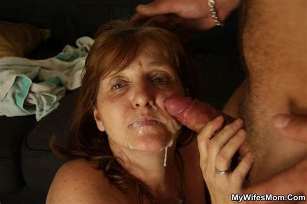 #Old #Cunt #Swallows #Hot #Cum #Of #Her #Good #Sun #W