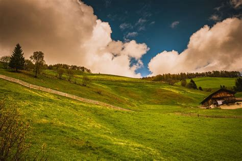 Panoramic view of landscape against sky   ID: 124477169