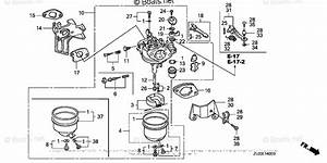 Honda Small Engine Parts Gx200 Oem Parts Diagram For
