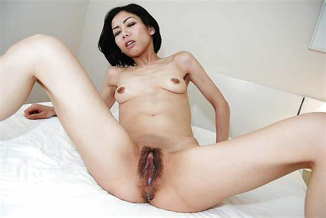 Topless Thin Asian Gal