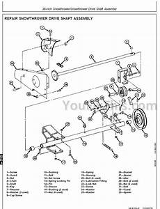 John Deere F525 Parts Diagram