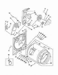 Wiring Diagram  30 Amana Dryer Belt Diagram