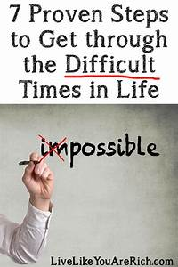 How to Get through Difficult Times in Life | Blog, Twitter ...