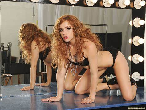 Ladies Lexi Marie Taking Talked Into Lexi Belle Take You Into A Pornstar'S Dressing Room 55990