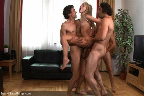 Gangbang Sultry Grey Haired Got Dp And Analed Porn