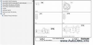 Lamborghini Gallardo Parts And Service Manual Parts