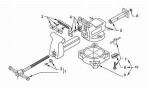 35 Wilton Vise Parts Diagram