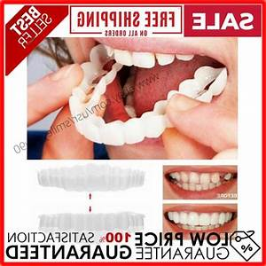 Magic Teeth Brace 2 Pcs  Set Temporary Smile Comfort