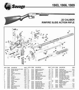 Need Repaired   1906 Savage  22 Pump Rifle
