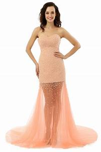 long formal evening dress pearls evening dresses vestido With vente de robe de soirée