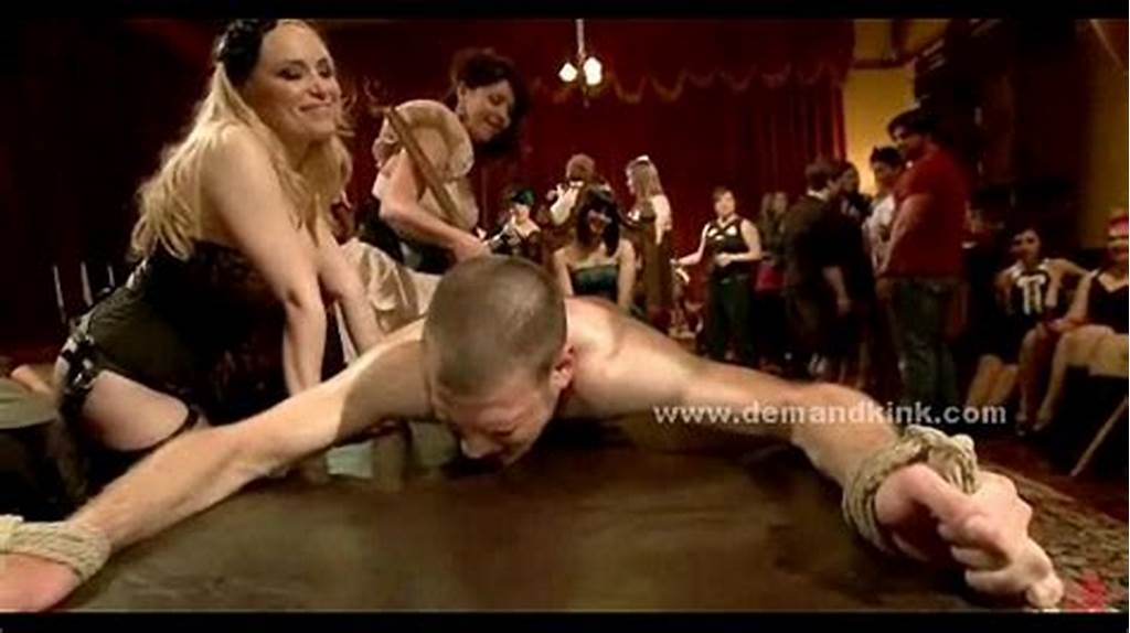 #Man #Sex #Slave #In #Middle #Of #Mistress #Ritual #Is #Forced #To