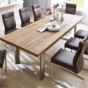 Esstisch Holz Modern : die besten 25 esszimmertisch ideen auf pinterest tisch ~ Michelbontemps.com Haus und Dekorationen