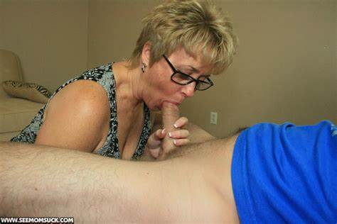 Blue Haired Mature Licks Milf