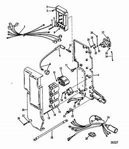 Mercury Marine 75 Hp  3 Cylinder  Electrical Components Parts