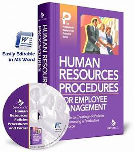 Human Resources Policies  Procedures And Forms  Manual And