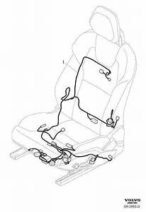 Volvo V60 Power Seat Wiring Harness  Left  Right  Front