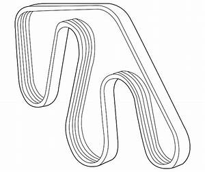 2007 Toyota Fj Cruiser Serpentine Belt Diagram