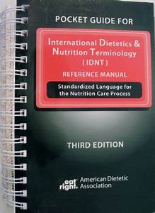 9780880914468  Pocket Guide For International Dietetics