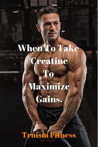 Should You Be Taking Creatine Before Bed
