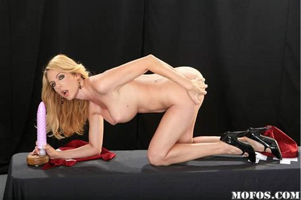 #Huge #Tits #Milf #Angela #Attison #With #Long #Legs #Playing #With
