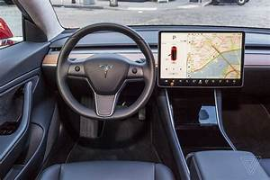 Tesla's Model 3 interior is now completely leather-free, including the steering wheel - The Verge