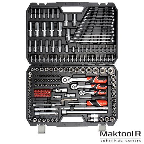 Instrumentu komplekts 216gab. XXL YATO YT-38841 - Maktool.lv - Elektroinstrumentu veikals