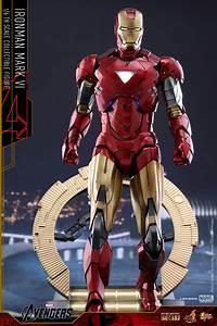 Hot Toys Iron Man Sub-Zero Mark VII and Diecast Mark VI ...