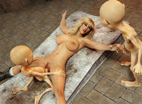 Deeply Stockings For Monster Boob Bunch Of Evil Gnomes Gang Up On A Helpless 3D Teen