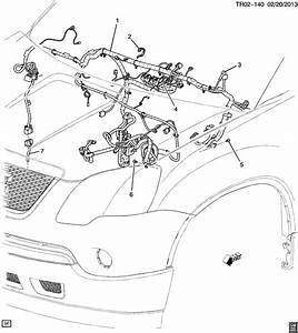 Chevrolet Traverse Harness  Chassis Wiring  Harness  I  P