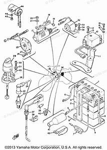Yamaha Motorcycle 1971 Oem Parts Diagram For Electrical