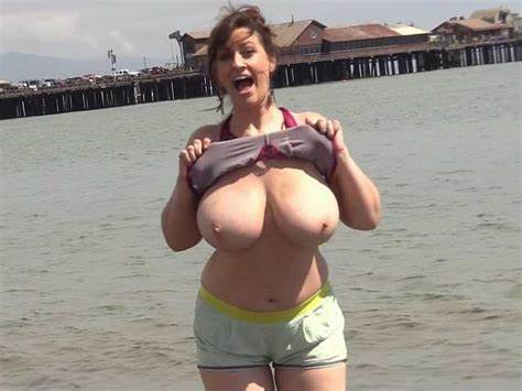 Candid Huge Titty On The Streets