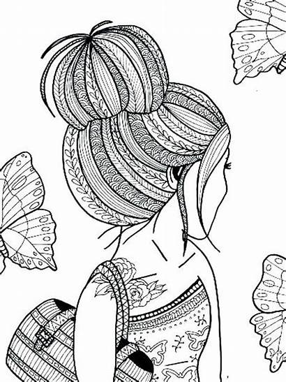 Coloring Teens Pages Printable Mycoloring