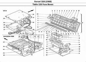 Buy Original Ferrari 328  1988  126 Fuse Boxes Ferrari