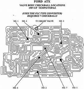 4r100 Transmission Valve Body Diagram