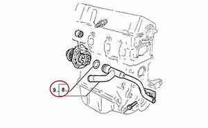 Coolant Water Pipe Fiat Grande Punto Bz 99 To 2009