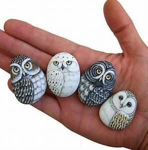 Basteln Mit Steinen : 1001 ideen und bilder zum thema eule basteln mit kindern ~ Watch28wear.com Haus und Dekorationen