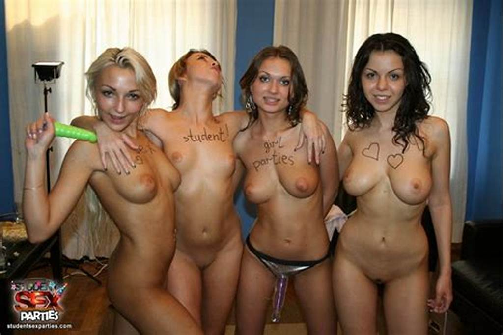 #Naked #All #Girls #Orgy #Party