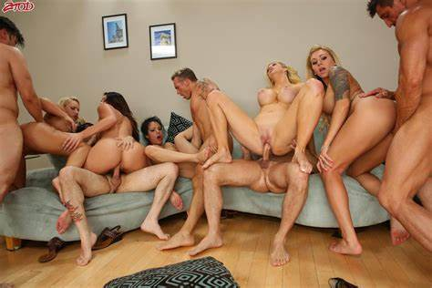 Orgies Breaks Out At Porn Gangbang Wit Alison Tyler Woods Gangbang Group