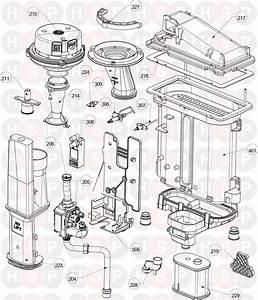 Ideal Logic   Combi C30  Gas Management Diagram