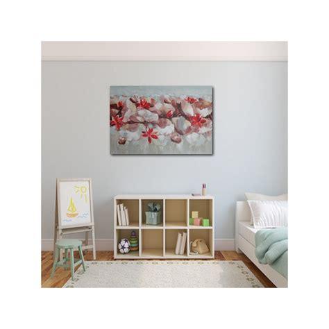 fille nue chambre deco chambre fleurs de lotus 120x80 cm