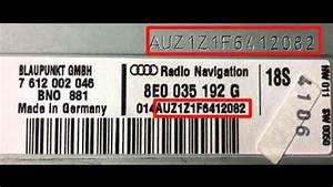 Vw Skoda Audi Radio Code How To Find Your Vw Radio Pin