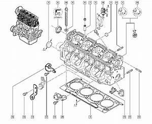 Sc U00e9nic I  Ja01  Manual  11 Upper Engine    Cylinder Head