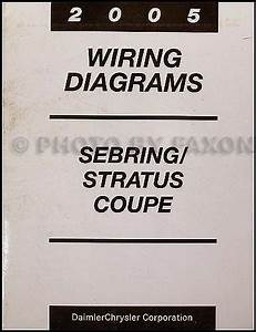 2005 Chrysler Sebring Dodge Stratus Coupe Wiring Diagram