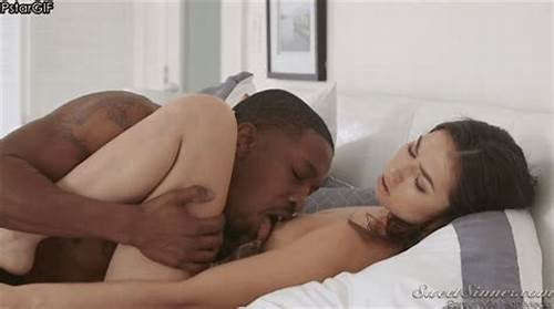 Funny And Pretty Newbie Pornstar Jumps On Bed #Blonde #Samantha #Saint #Interracial #Sex