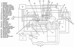1986 Mazda B2000 Engine Diagram