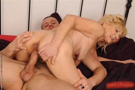 Acrobatic Blonde Having Fuck By A Mature Stud