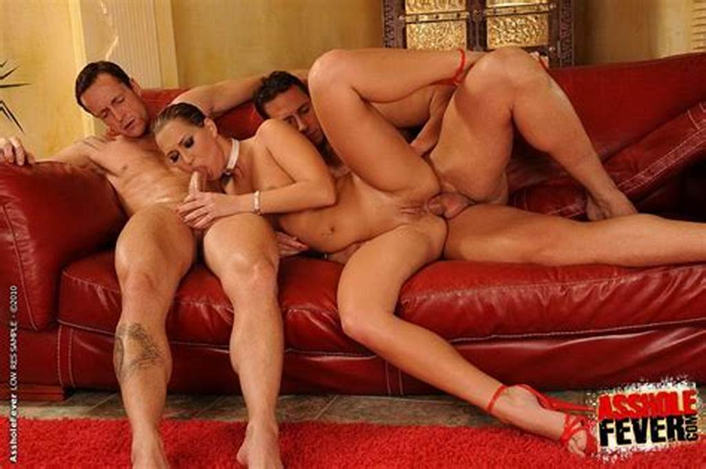 #Linda #Ray #Enjoys #Two #Cocks #In #Trio #Anal #Sex #Action