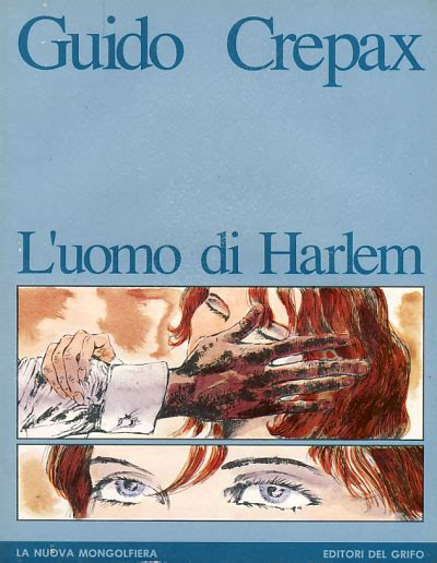 Poster affiche called la scala by guido crepax, only 20 copies, here n. L'uomo di Harlem   Guido Crepax   First Edition
